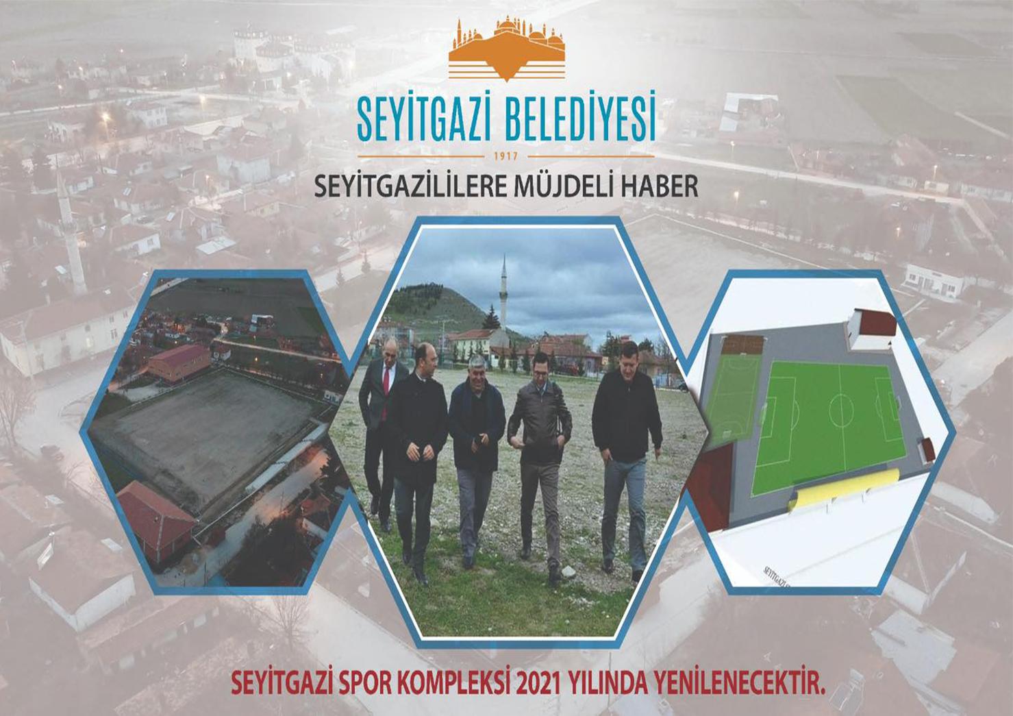 SEYİTGAZİ'MİZİN SPOR KOMPLEKSİ YENİLENİYOR