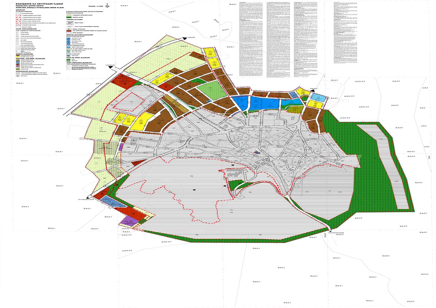 Nakoleia (Seyitgazi) Koruma Amaçlı İmar Planı